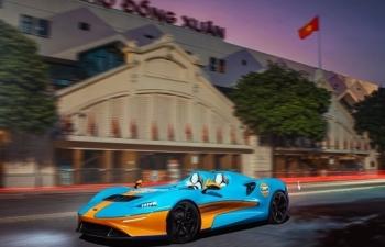 Siêu xe McLaren Elva bất ngờ xuất hiện trên phố Hà Nội