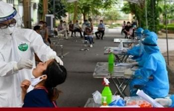 Hà Nội có 5 người nhiễm SARS-CoV-2 trong ngày 7/10