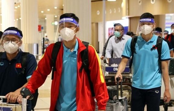 U22 Việt Nam đến UAE, chờ HLV Park Hang Seo hội quân