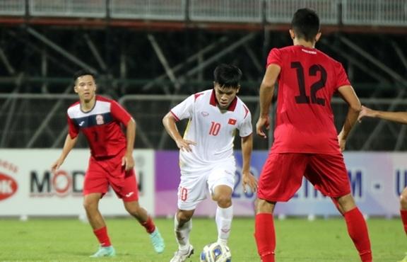 HLV Park Hang Seo thử sơ đồ mới, U23 Việt Nam vận hành chưa tốt