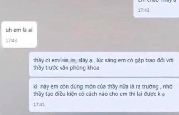 """Hà Nội: Tạm đình chỉ giảng viên bị tố gạ nữ sinh tới khách sạn để """"qua môn"""""""