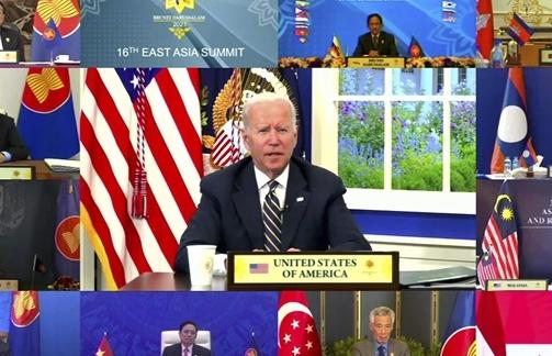 Ông Biden chỉ trích Trung Quốc gây bất ổn ở eo biển Đài Loan