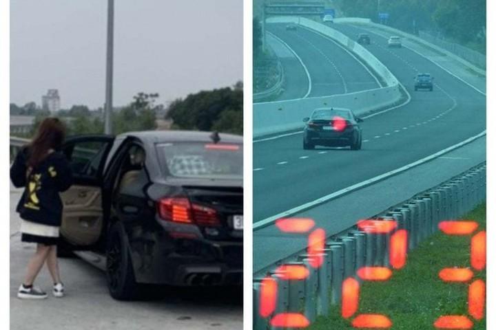 Vội đi ăn cưới, lái xe ô tô BMW chạy tốc độ 223 km/h trên cao tốc