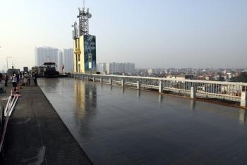 Lắp trạm cân tải trọng, giảm tốc độ tối đa xe lưu thông qua cầu Thăng Long