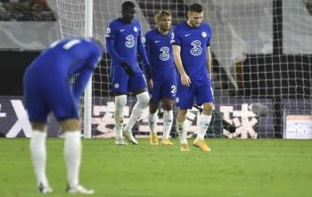Chelsea thua đau, Lampard bất bình với học trò