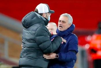 HLV Mourinho cay cú sau thất bại của Tottenham trước Liverpool