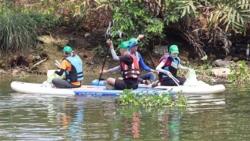 Xin được vớt rác trên sông: Mệt vì thủ tục