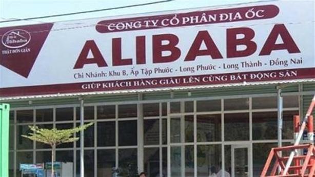 bo cong an vao cuoc vu alibaba ban du an ma