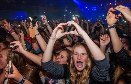 Các buổi hòa nhạc có thể gây suy phổi