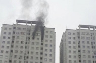 Hà Nội: Cháy ở tầng 21 chung cư KĐT Văn Khê, cư dân hoảng loạn tháo chạy
