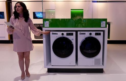 Máy giặt sấy nhanh nhất thế giới
