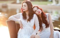 Hôn nhân viên mãn của chị em người mẫu sinh đôi Thúy Hằng – Thúy Hạnh