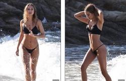 kimberley garner khoe dang dep nhu tac tuong voi bikini 2 manh
