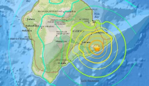 Hawaii xuất hiện trận động đất lớn nhất trong vòng 40 năm