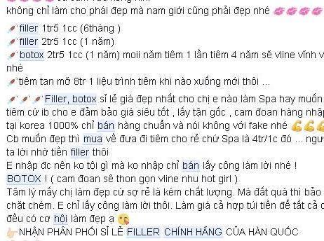 loan gia filler lam dep khong dau don giup nang nguc no mong tren cho mang