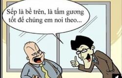 luat hoa viec cong chuc khong duoc ninh bo cap tren