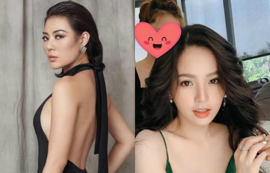 hot showbiz thanh huong khong coi hot girl phi huyen trang la dong nghiep dan mang noi gi