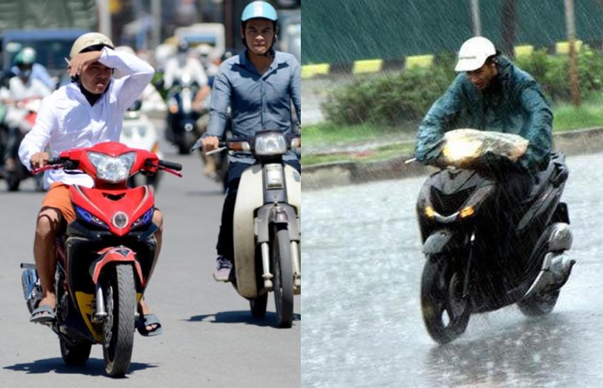 Sau nắng nóng 40 độ C, Bắc và Trung Bộ đón mưa dông diện rộng