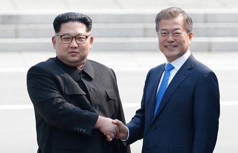 moon jae in muon gap kim jong un truoc khi trump tham han quoc