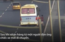 xe khach tong xe may keo le duoi gam hang chuc met nguoi phu nu chet tham