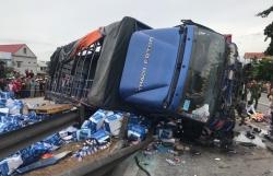 Báo động tai nạn trên QL5: 2km đường, 3 vụ tai nạn và 7 mạng người
