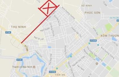 Đổi 58,46ha đất lấy 1,39km đường: Bắc Ninh báo cáo gì?
