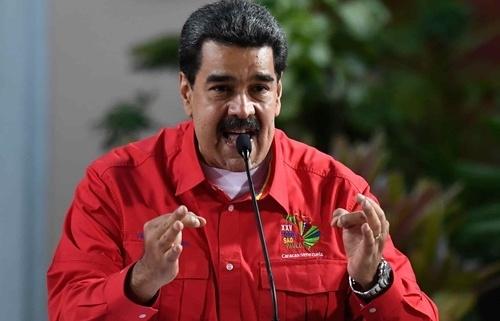 maduro venezuela san sang chien dau neu bi trump phong toa