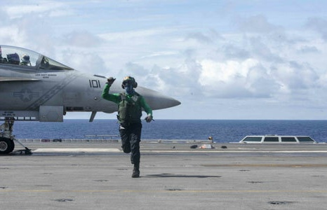 Tàu sân bay Mỹ hoạt động ở Biển Đông