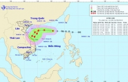 Áp thấp nhiệt đới sẽ mạnh lên thành bão số 5 trong ngày Quốc khánh 2/9