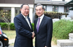 Ngoại trưởng Trung Quốc hội đàm với Ngoại trưởng Triều Tiên