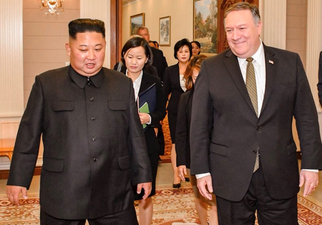 kim jong un pompeo dong y to chuc thuong dinh lan 2 som nhat co the
