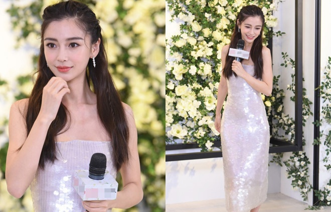 angelababy gap su co tuot vay vi voc dang gay go