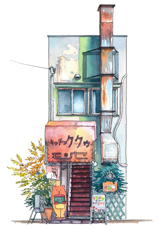 tokyo dep gian di duoi nhung cua hang duoc phac hoa tren giay