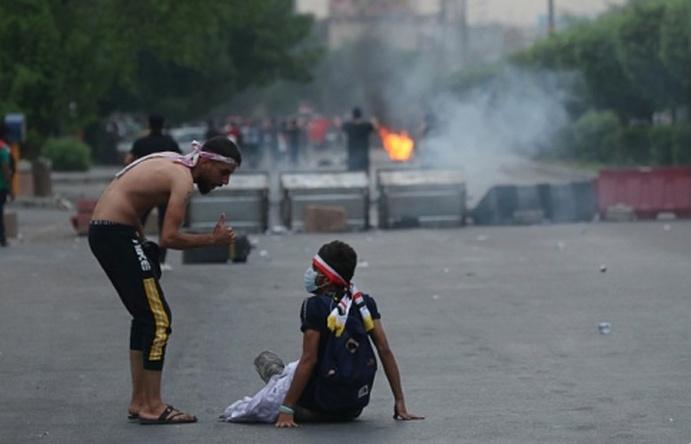 Biểu tình biến thành bạo lực ở Iraq, 1 người chết