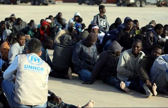 libya giai cuu gan 150 nguoi di cu