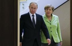 Tổng thống Nga và Thủ tướng Đức điện đàm bàn về nhiều vấn đề nóng