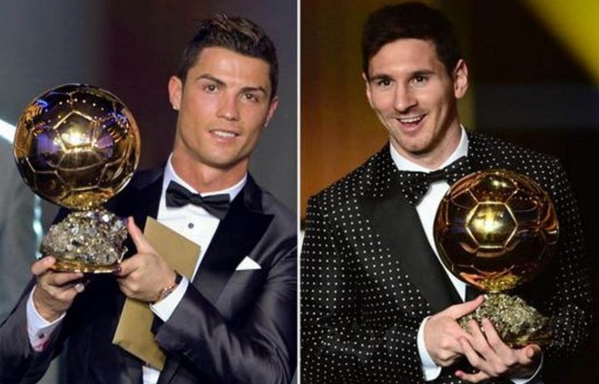 ronaldo va messi co the bi loai khoi top 3 ung vien qua bong vang 2018
