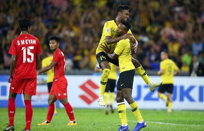 nhan chim myanmar tuyen malaysia cung viet nam vao ban ket aff cup