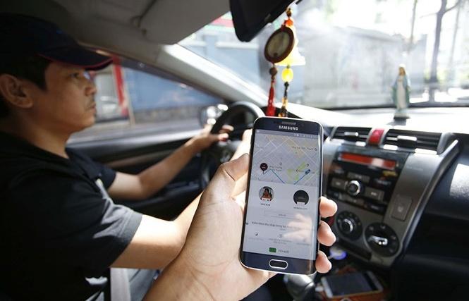 tranh luan nong van chua dinh danh uber grab