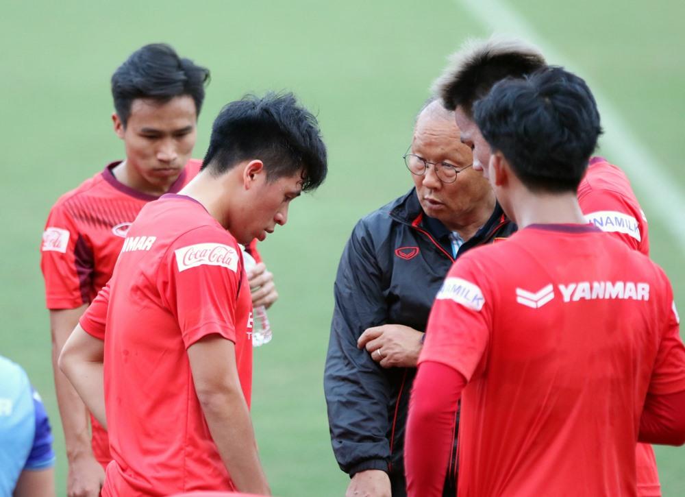 Huấn luyện viên Park Hang-seo đang hướng đến giải U23 Châu Á 2020. Ảnh: Hữu Phạm
