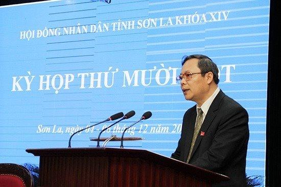 Chủ tịch hội đồng nhân dân tỉnh Sơn La. Ảnh Sonla.gov.vn