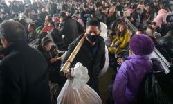 Hàng trăm triệu người Trung Quốc về quê ăn Tết trong đợt xuân vận lớn nhất