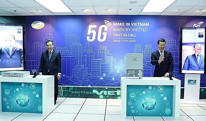 hai bo truong goi thu 5g tren thiet bi made in vietnam vnexpress kinh doanh