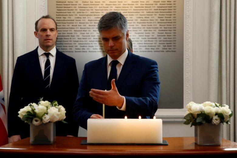 Ngoại trưởng Ukraina Vadym Prystaiko. Ảnh: Reuters.