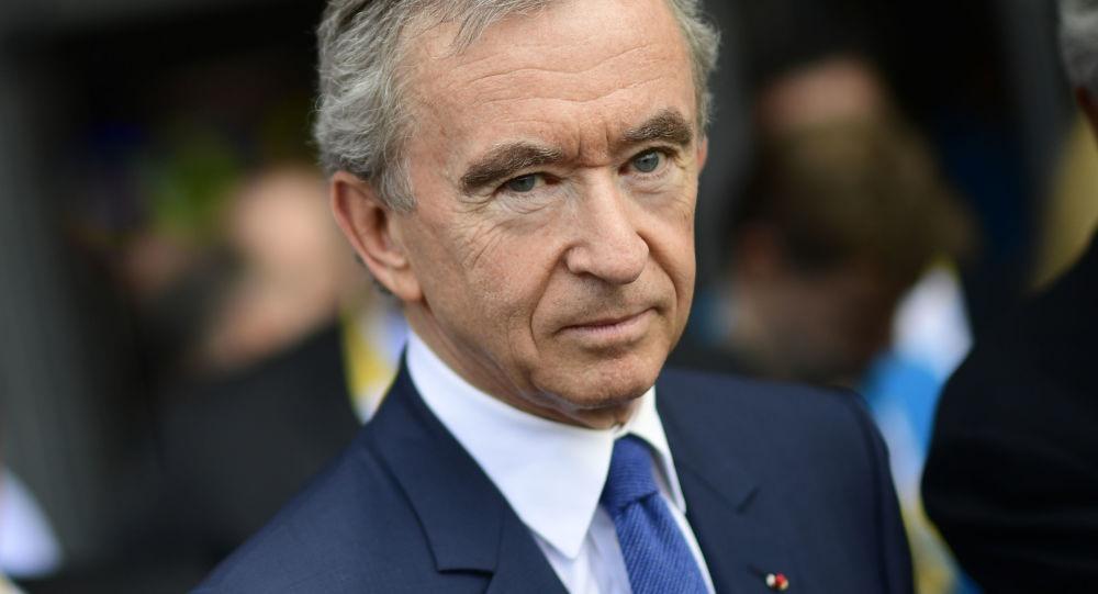 Chủ tịch LVMH của Pháp Bernard Arnaud. Ảnh: AFP