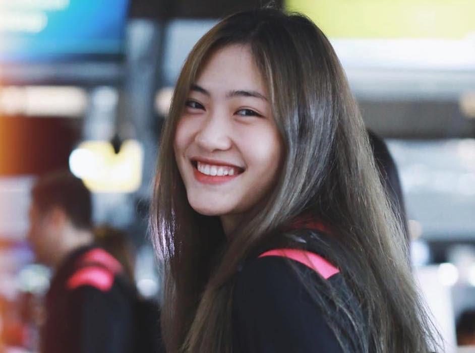 Trần Việt Hương mới chỉ 21 tuổi. Ảnh: QT