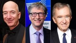 Jeff Bezos bỏ xa Bill Gates trên bảng xếp hạng giàu nhất thế giới