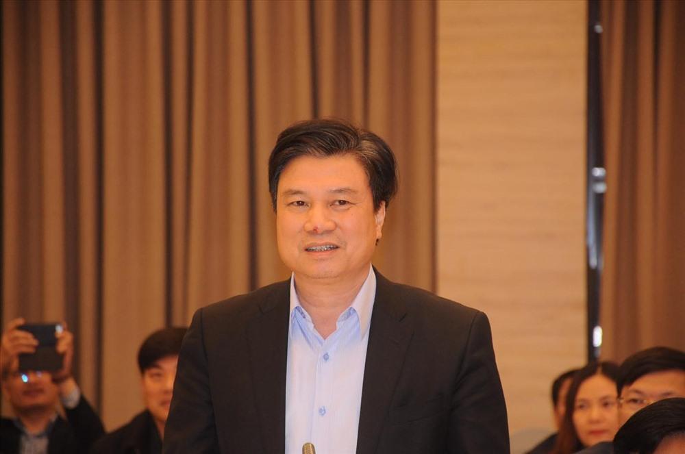 Thứ trưởng Bộ Giáo dục và Đào tạo Nguyễn Hữu Độ. Ảnh: PV