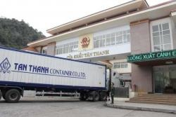 mo cua khau tan thanh nong san thong duong sang trung quoc