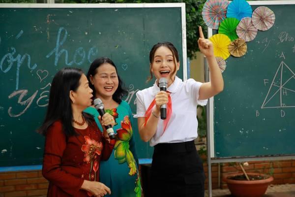 dien vien lan phuong mong thay co nhan nai yeu thuong khong lam ton thuong hoc sinh